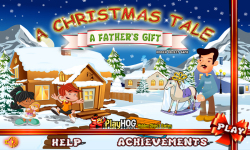 Free Hidden Object- Christmas Tales Fathers Gift screenshot 1/4