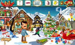 Free Hidden Object- Christmas Tales Fathers Gift screenshot 3/4