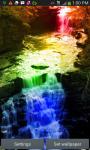 Rainbow Waterfall Splash LWP screenshot 1/3