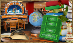 Free Hidden Object Game - Book Club screenshot 1/4