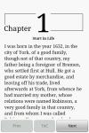 Robinson Crusoe Book screenshot 3/3
