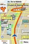 Navigation for Argentina - iGO My way 2010 screenshot 1/1