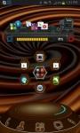 Next Launcher 3D choco Theme screenshot 1/3