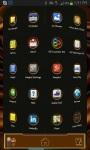 Next Launcher 3D choco Theme screenshot 3/3