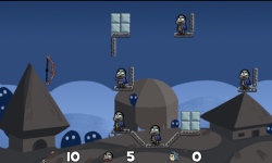Zombies Castle VS Archery screenshot 2/2
