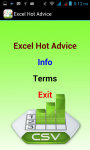 Excel Hot Advice screenshot 2/3