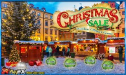 Free Hidden Object Game - Christmas Sale screenshot 1/4