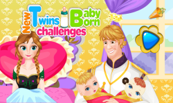 New Twins Baby Born Challenges screenshot 1/5