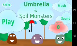 Umbrella and Soil Monsters screenshot 1/6