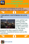 CHEAPEST COUNTRIES TO LIVE IN screenshot 3/3