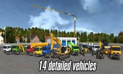 Bau simulator 2014 3D Premium Edition screenshot 1/4