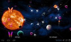 3D Planet Live Wallpapers screenshot 3/5