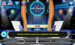 Game millioneren screenshot 3/3