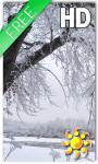 Snow Tree Live Wallpaper screenshot 1/2
