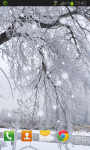 Snow Tree Live Wallpaper screenshot 2/2