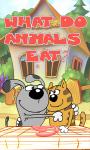 What do animals eat screenshot 1/4
