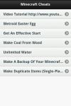 Minecraft Cheats app screenshot 2/3