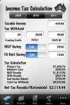 my Tax - Comprehensive Australian Income Tax Calculator screenshot 1/1