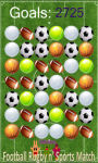 football rugby and sports match mania game free screenshot 5/5