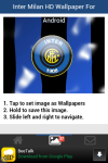Inter Milan HD Wallpaper for Android screenshot 2/5