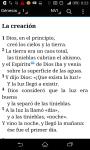 Spanish Bible - Santa Biblia screenshot 1/3