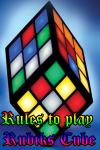 Rules to play Rubiks Cube screenshot 1/4