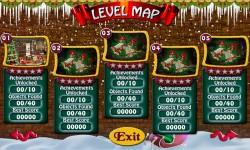 Free Hidden Object Game - Golden Christmas screenshot 2/4