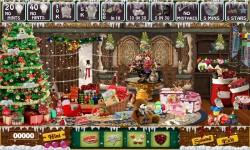 Free Hidden Object Game - Golden Christmas screenshot 3/4