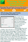 WhatsApp Tips and Tricks Everyone Should Know screenshot 2/3