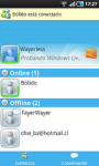 Windows Live Messenger App screenshot 1/6