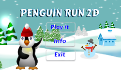 Penguin Run 2d screenshot 1/5