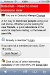 Dateclub Kenya screenshot 1/3