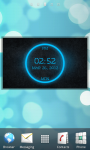 Digital Clock Widget - Likebit screenshot 1/4