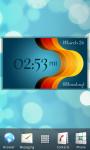 Digital Clock Widget - Likebit screenshot 2/4