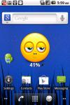 Smiley Battery Widget Volume 1 screenshot 1/3