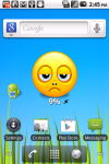 Smiley Battery Widget Volume 1 screenshot 2/3