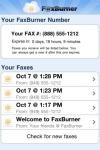 FaxBurner screenshot 1/1
