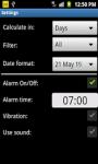 Birthday Reminder App screenshot 4/4