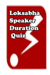 Lok Sabha Speaker Duration Quiz screenshot 1/3