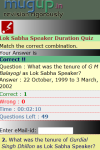Lok Sabha Speaker Duration Quiz screenshot 3/3
