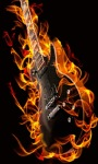 Guitar Flame Live Wallpaper screenshot 1/3