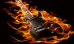 Guitar Flame Live Wallpaper screenshot 2/3