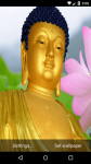 Beautiful Buddha Live Wallpaper HD screenshot 3/6