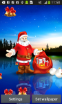 Santa Claus Live Wallpapers screenshot 5/6