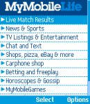 MyMobileLife - FREE News, Sport & Entertainment, LIVE Football Service, IM and more! screenshot 1/1
