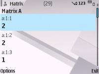 Matrix screenshot 6/6