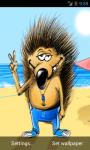 Funny Hedgehog Live Wallpaper screenshot 3/5