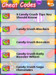 Candy Crush Game Tips n Tricks screenshot 2/4