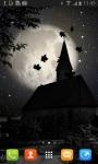Dark Silent Night Live Wallpaper screenshot 1/3