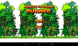 Jungle StickMan Runner screenshot 1/4